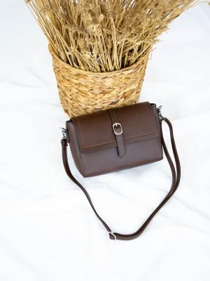 Сумка №-2056 коричневый