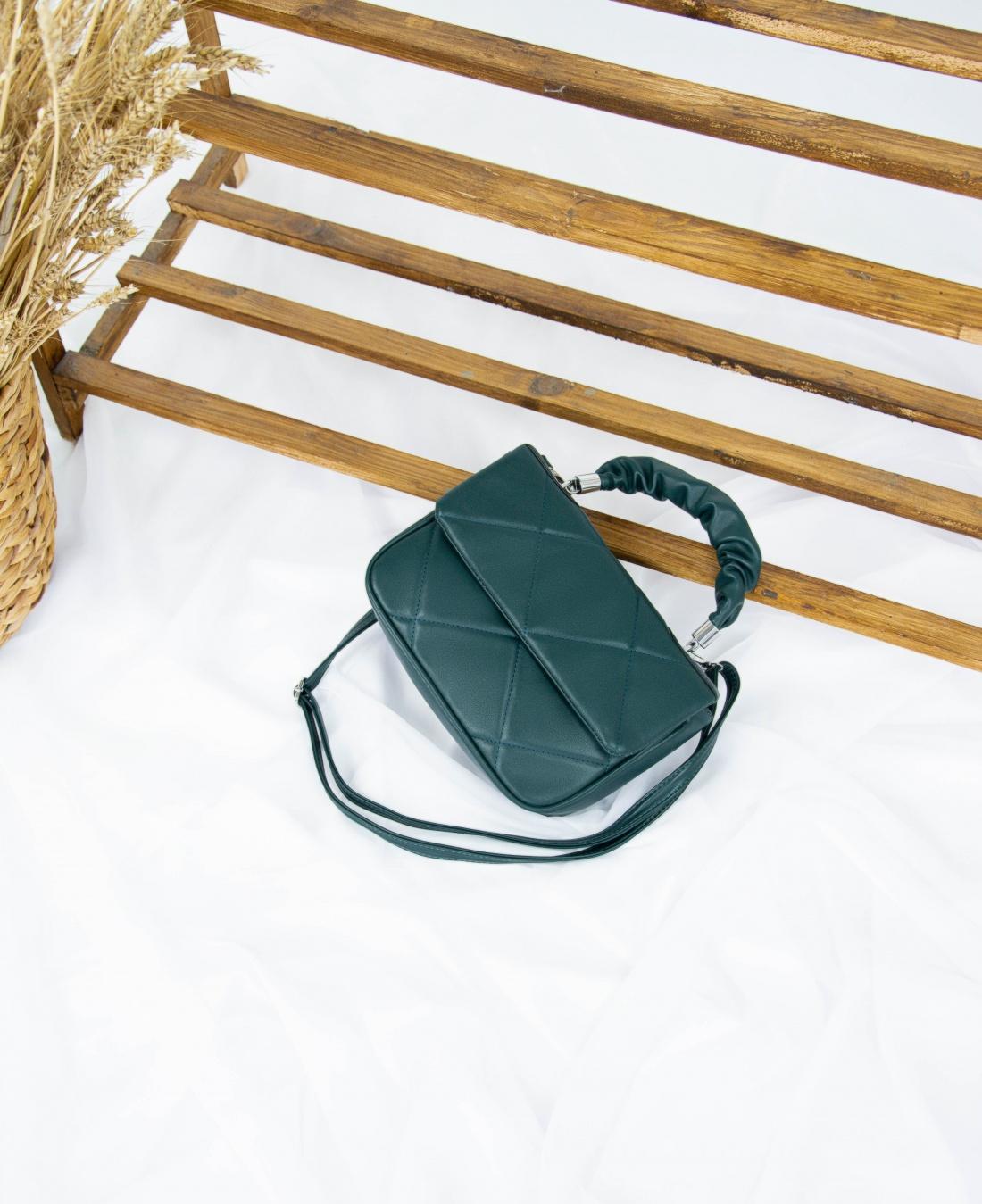Сумка №-3209 зеленый