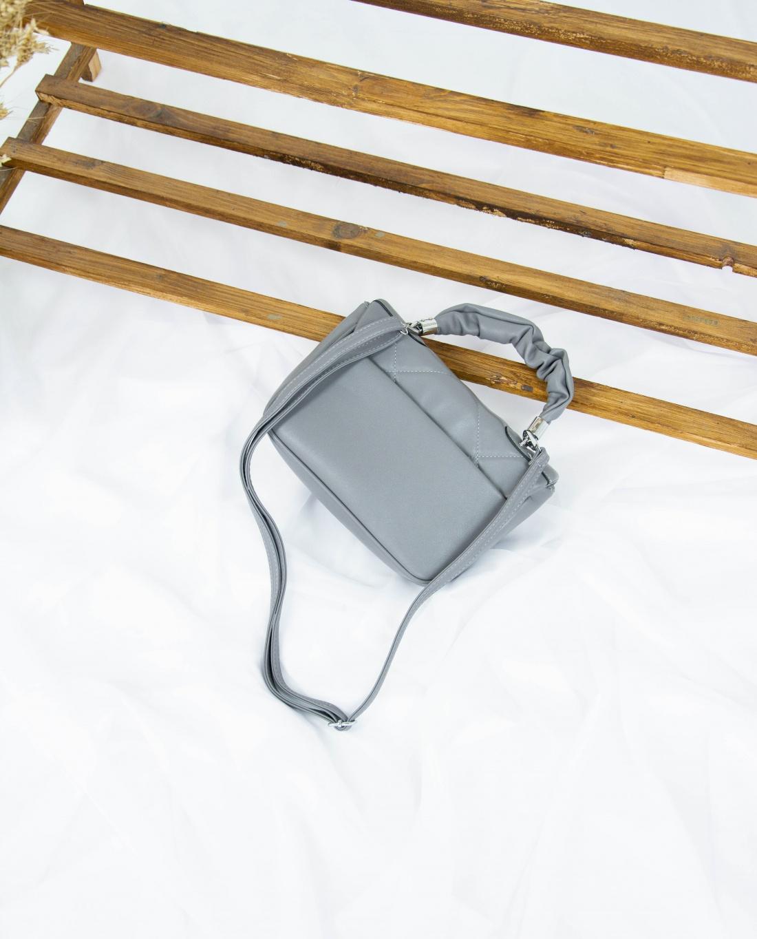 Сумка №-3209 серый