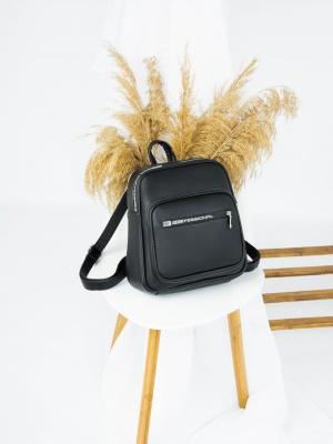 Рюкзак №-4011 черный