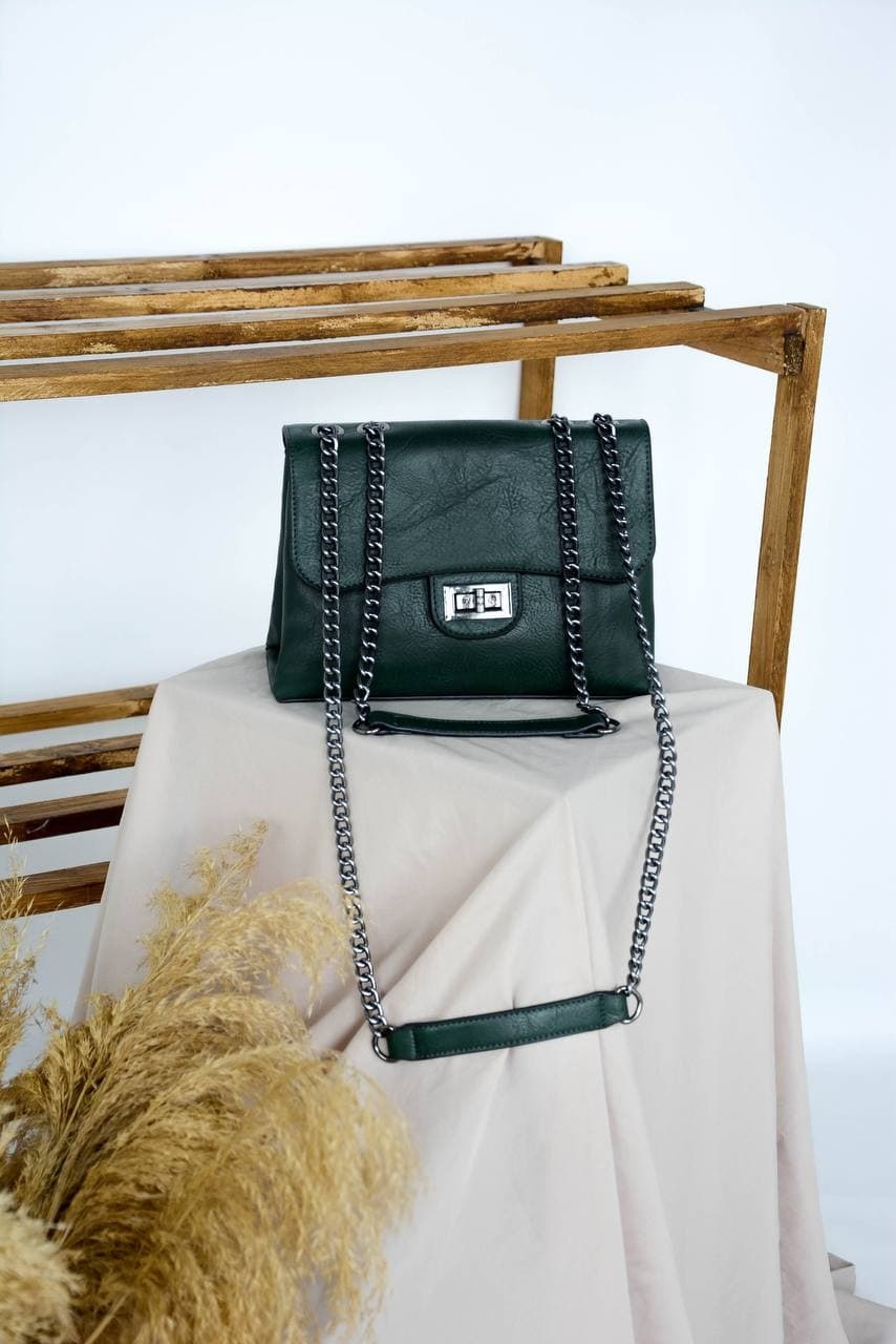Сумка №-7169 зеленый