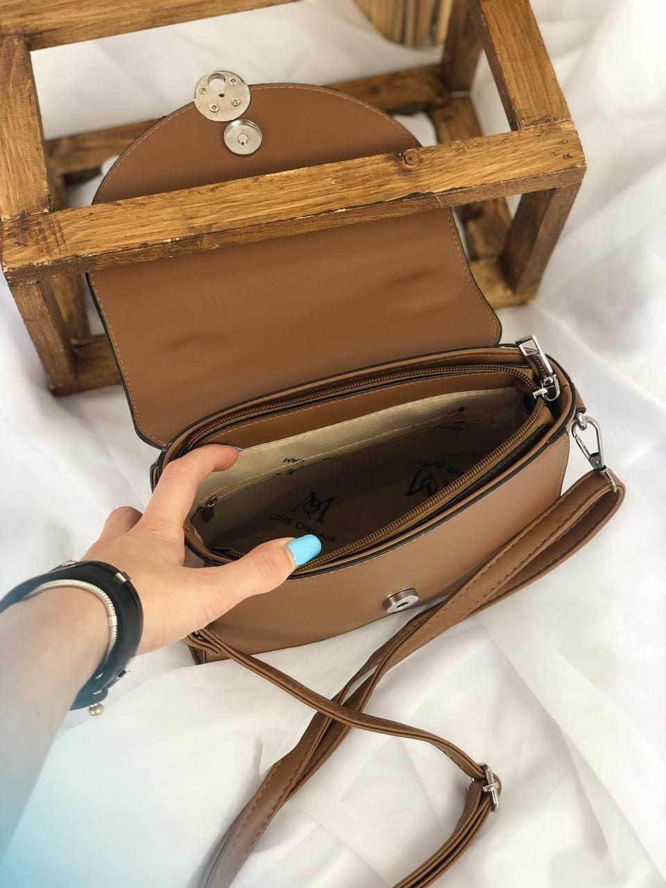 Сумка №-F957 коричневый