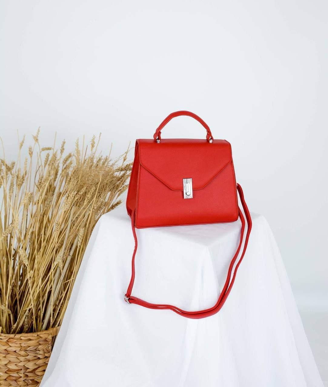 Сумка №-697 красный