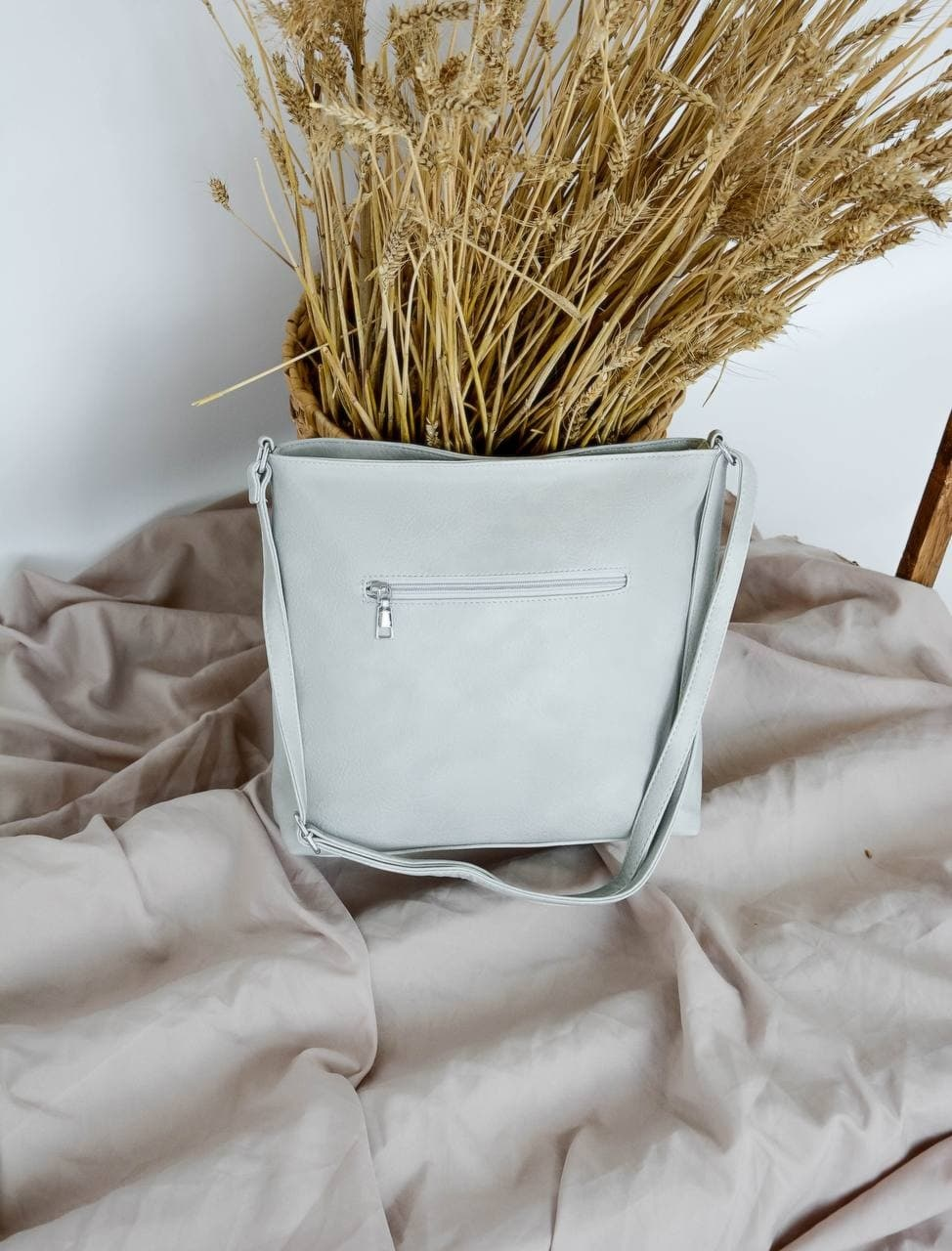 Сумка №-А5801 серый
