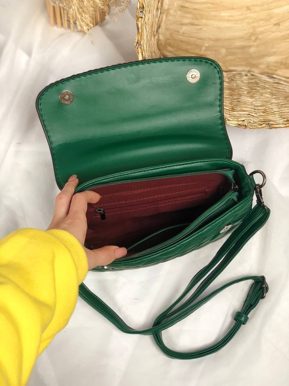 Сумка №-Н7226 зеленый