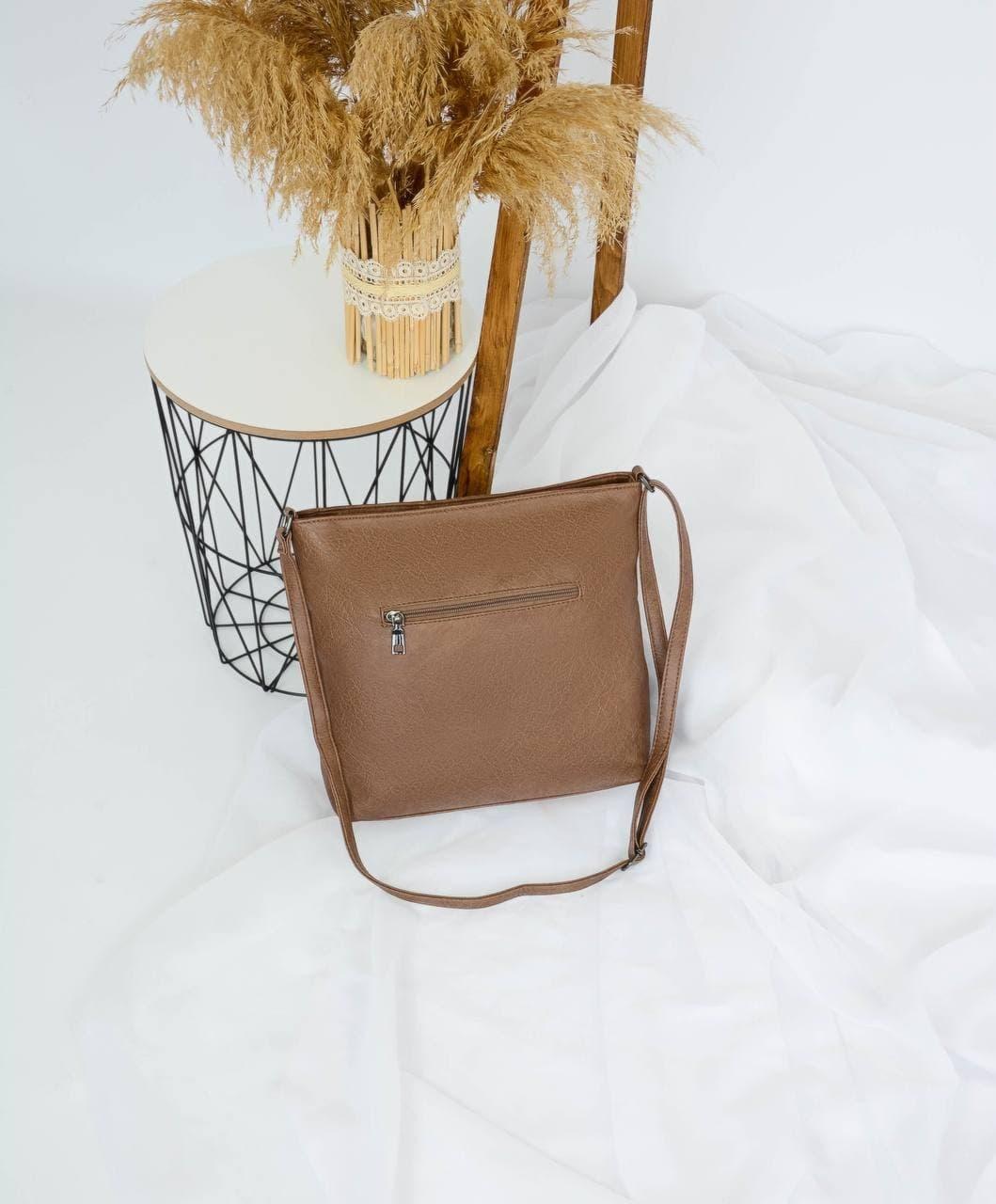 Сумка №-А5992 коричневый