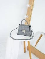Сумка №-1627-1 серый