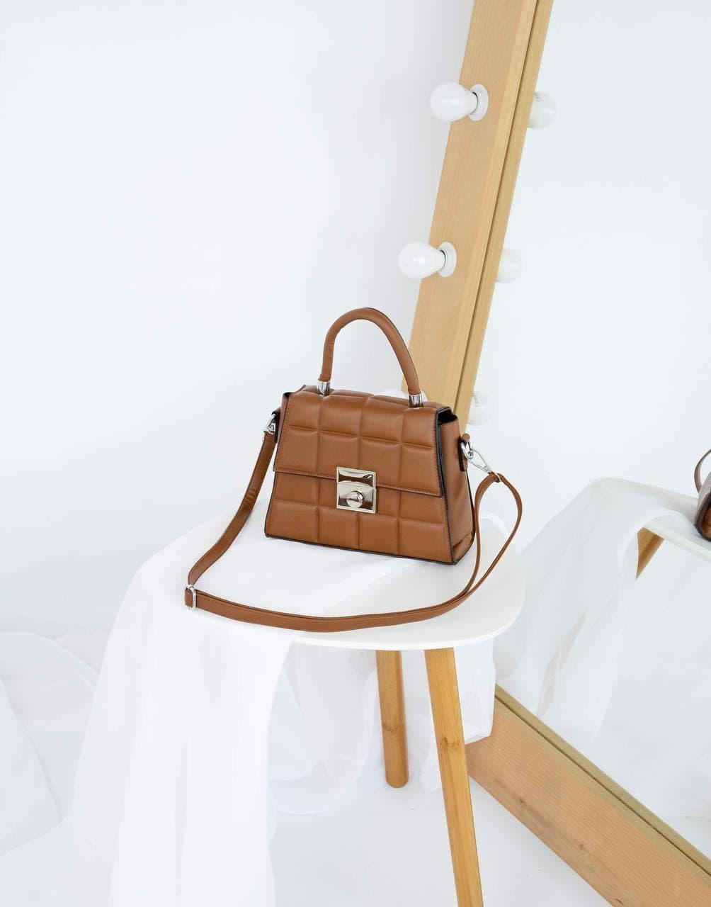 Сумка №-1627-1 коричневый