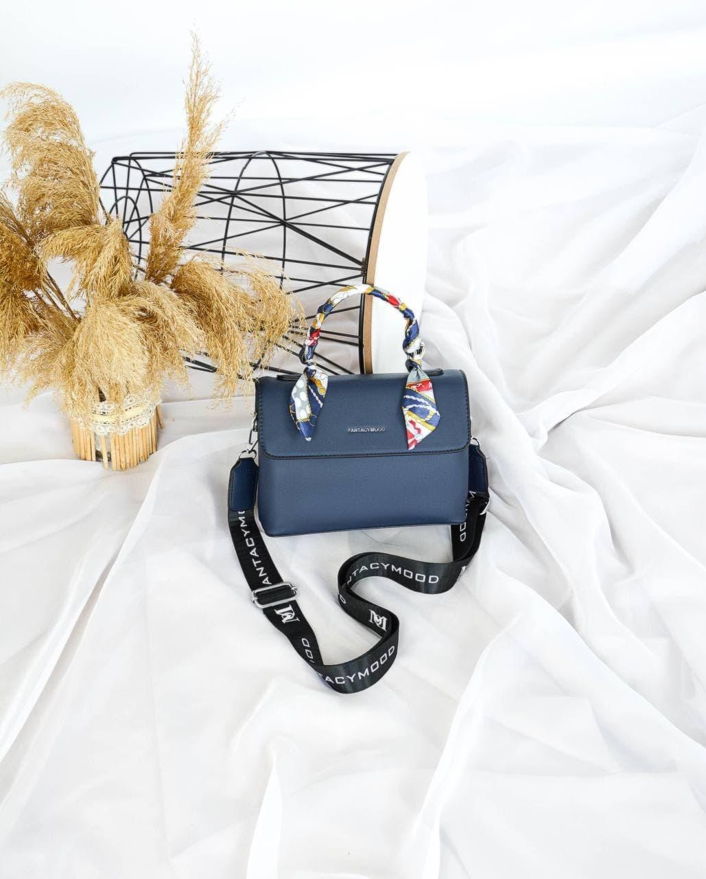 Сумка №-4005 синий