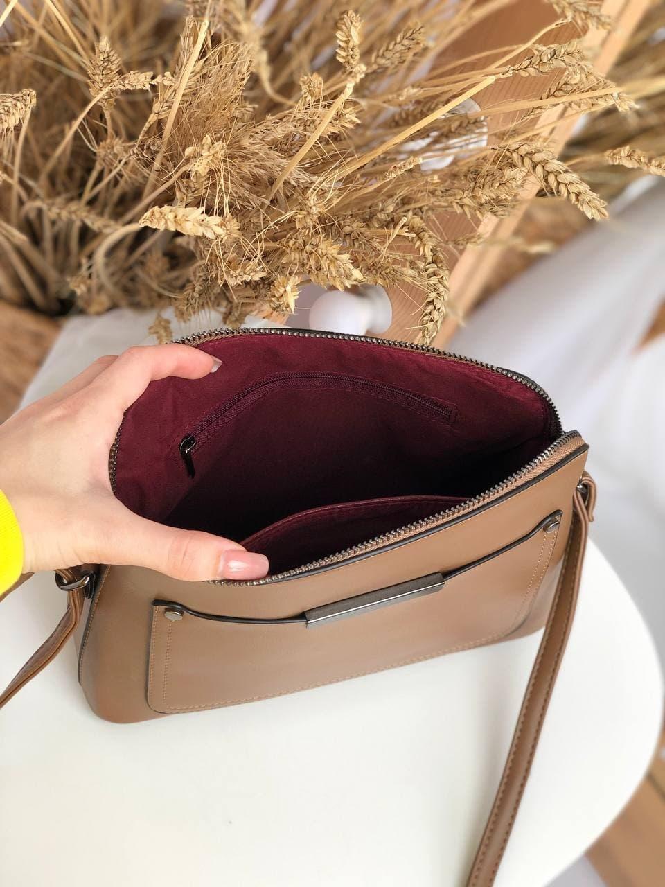 Сумка №-Н7022 коричневый